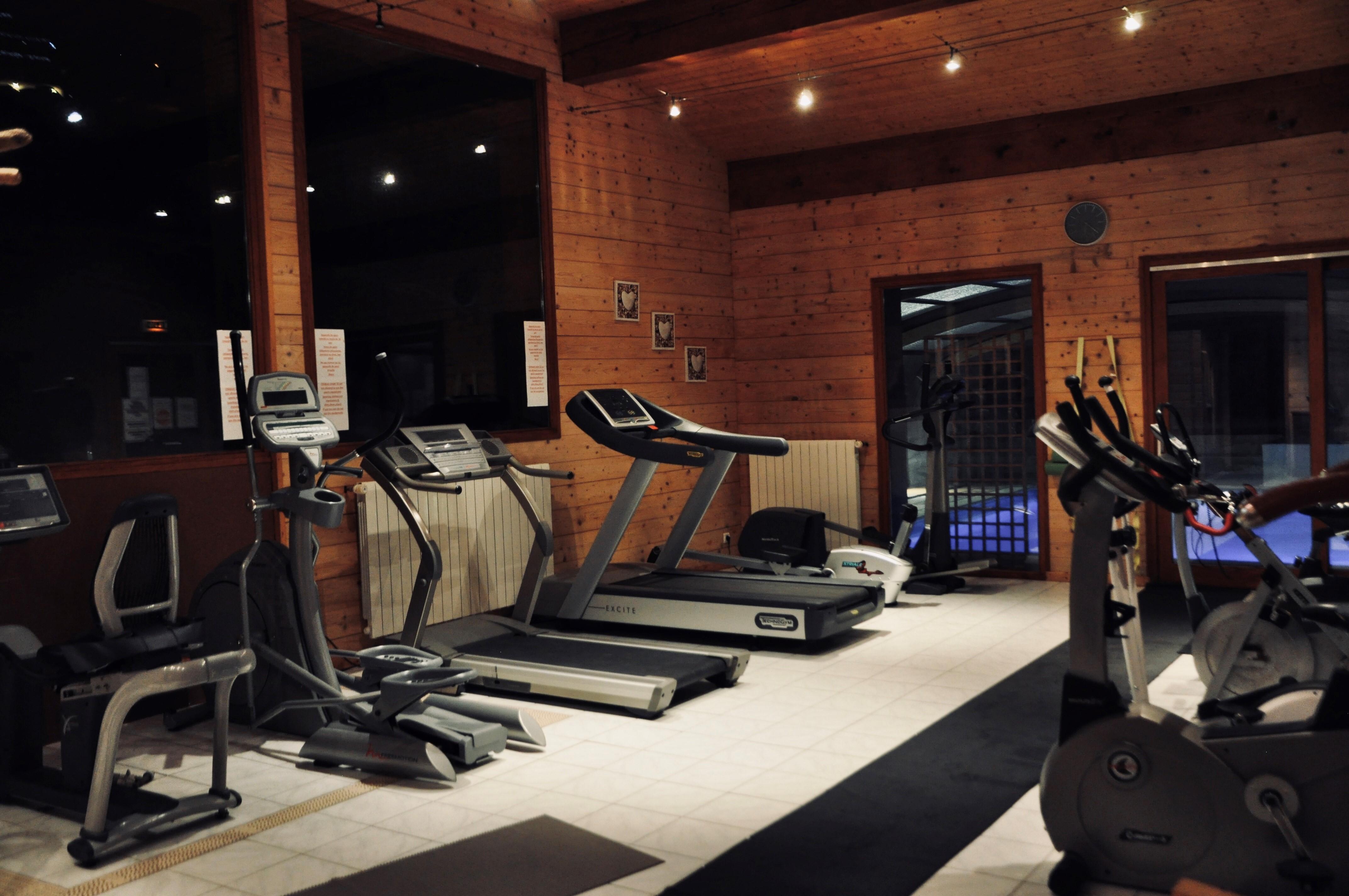 Salle de sport de l'hôtel